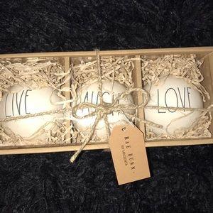 Other - Rae Dunn Ornaments